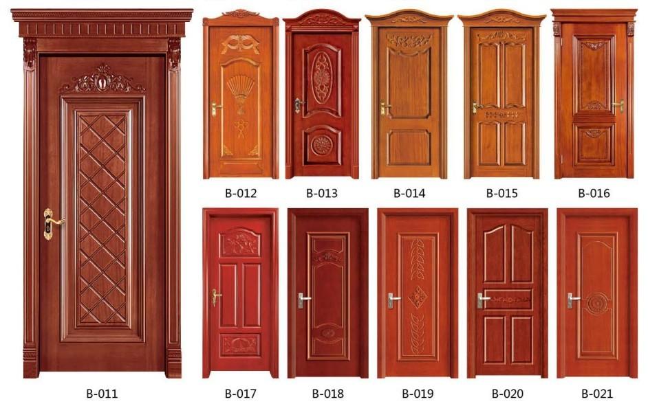 实木雕花拼装门